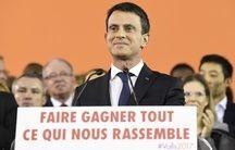 Manuel Valls à Evry le 5 décembre 2016.