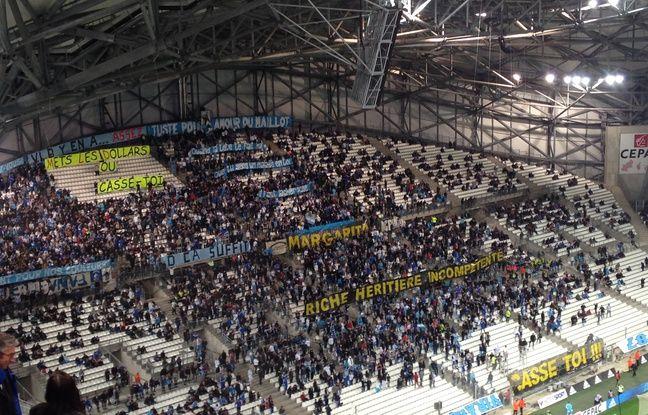 Au Vélodrome le dimanche 10 avril 2016, à Marseille
