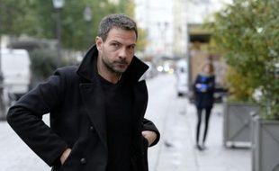 Jérôme Kerviel, l'ex-trader de la Société Générale, à son arrivée au tribunal administratif de Paris, le 15 octobre 2015