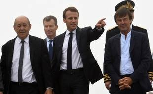 Emmanuel Macron et Nicolas Hulot, le 20 juin 2018.