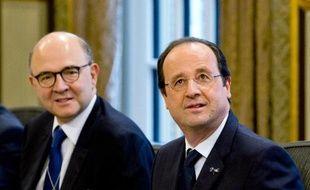L'Elysée envisage une baisse des prélèvements obligatoires sur les entreprises qui pourrait s'accompagner d'une baisse d'impôts pour les ménages dès 2015.