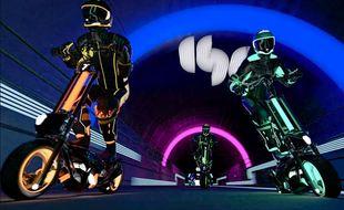 Une compétition officielle de trottinettes électriques en 2021