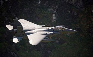 Un f-15 de l'armée américaine (illustration)