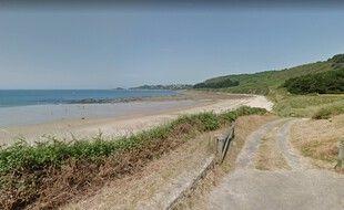 La plage de Beg-Léguer, dans les Côtes d'Armor.