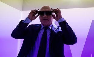 Michel Sapin au Kremlin-Bicêtre, le 23 octobre 2014