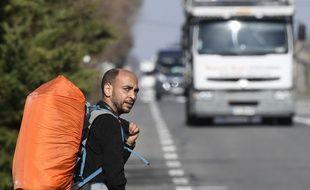 AbdelghaniMerah a démarré une longue marche à travers la France pour sensibiliser à la montée de l'intégrisme religieux.