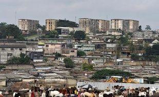 Williamsville, un des quartiers pauvres d'Abidjan, la capitale économique de Côte d'Ivoire, le 13 septembre 2014