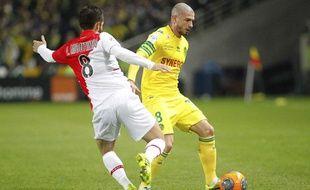 NANTES, le 24/11/2013 Vincent BESSAT, lors du match FCN MONACO