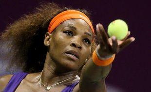 Serena Williams le 15 février 2013 lors du tournoi de Doha.