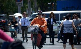 Le centre de Pékin, en Chine, le 13 juillet 2015