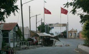 Le poste-frontière d'Oncupinar avec la Syrie, près de Kilis, le 22 juillet 2012