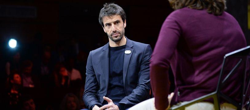 Le patron des JO 2024 Tony Estanguet lors de la Global Sports Week à Paris, le 2 février 2020.