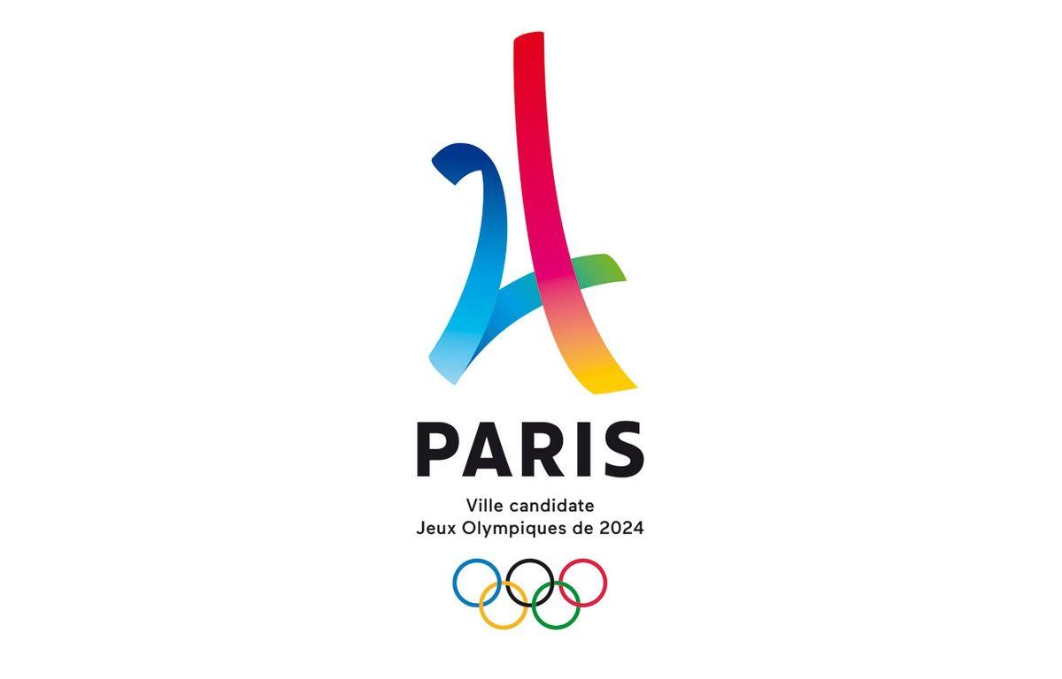Ce logo, dévoilé mardi 9 février, accompagnera la candidature de Paris aux Jeux Olympiques de 2024 jusqu'au 13 septembre 2017 – Design Dragon Rouge pour Ambition olympique