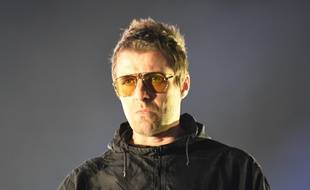 Le chanteur Liam Gallagher