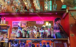 Bar de la Plaine. Marseille, le 17 mars 2016