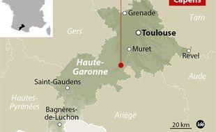 Le drame a eu lieu dans une habitation de Capens, en Haute-Garonne.