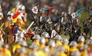 La bataille de Bouvines reconstituée avec des Playmobil pour son 800e anniversaire.