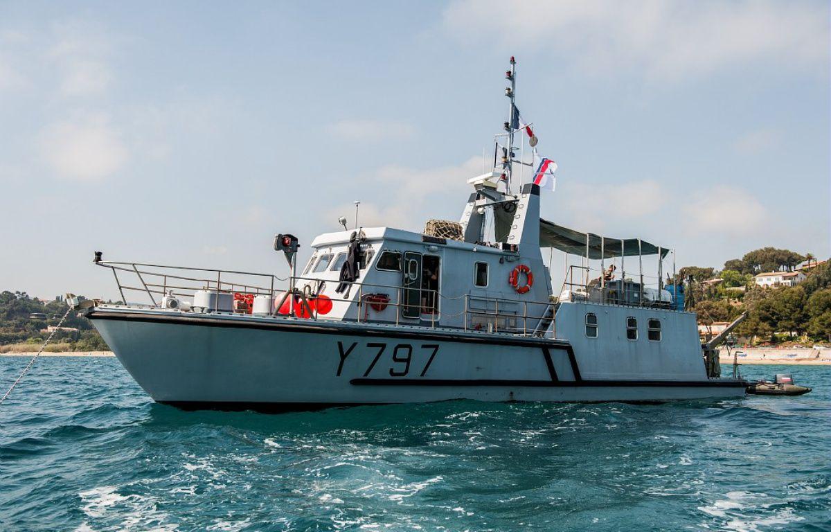 La vedette d'intervention des plongeurs démineurs de la Marine nationale  – Marine Nationale