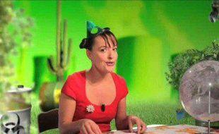 La journaliste Laure Noualhat dans son rôle de Bridget Kyoto.