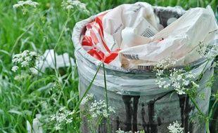 Illustration de déchets.