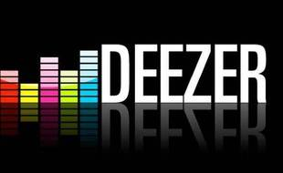 Le logo du site de streaming Deezer.