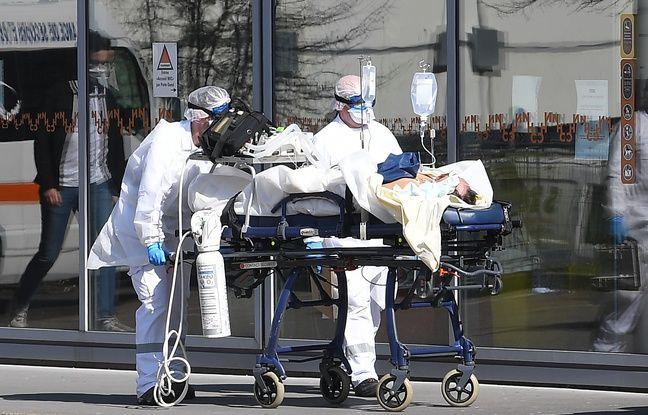 Coronavirus dans le Grand-Est: Plus de 3.000 personnes hospitalisées à cause du Covid-19, plus de 500 décès