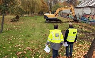 Dans le parc Engrand, à Hellemmes, un chapiteau va être installé (illustration).