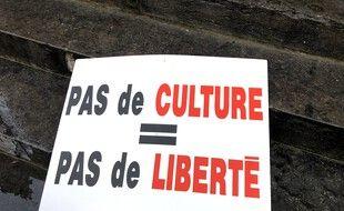Le monde de la culture est en colère.