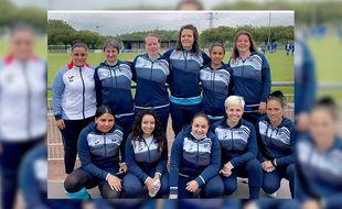 L'équipe féminine du club Lille Moulins Carrel.