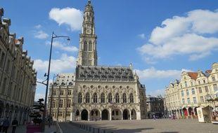 La ville d'Arras où se tenait le concours.