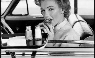 Marilyn Monroe à Hollywood, en 1952