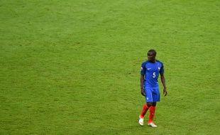 N'Golo Kanté lors du match d'ouverture de l'Euro 2016 France-Roumanie, le 10 juin au Stade de France.