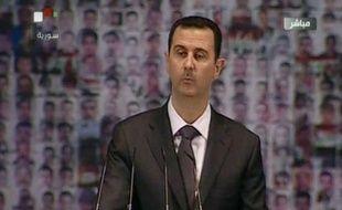 Le président syrien Bachar al-Assad a affirmé dimanche que le conflit meurtrier en Syrie n'opposait pas son régime à l'opposition, mais la Syrie à ses ennemis, qui souhaitent, selon lui, sa partition.
