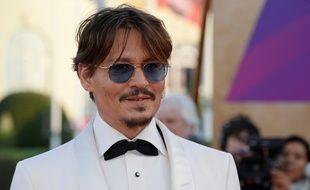 L'acteur Johnny Depp au Festival de Deauville