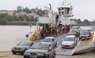 Les deux liaisons, ici à Indret, transportent près de 190.000 passagers par mois.