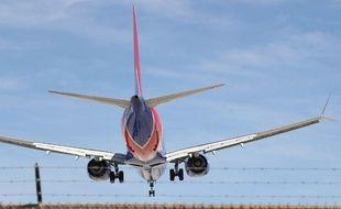 Un Boeing 737 Max 8 aux Etats-Unis (image d'illustration).