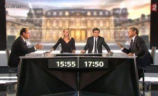 La tâche s'annonce très délicate pour le président Nicolas Sarkozy qui n'est pas parvenu mercredi soir à déstabiliser son adversaire socialiste François Hollande, lors de leur unique face à face télévisé avant le second tour dimanche de l'élection présidentielle en France