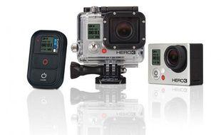 La camera Hero3 de GoPro.