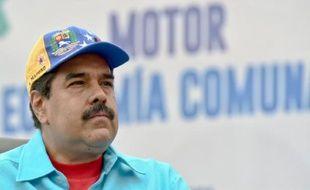 Le président vénézuélien Nicolas Maduro à Caracas le 14 mai 2016