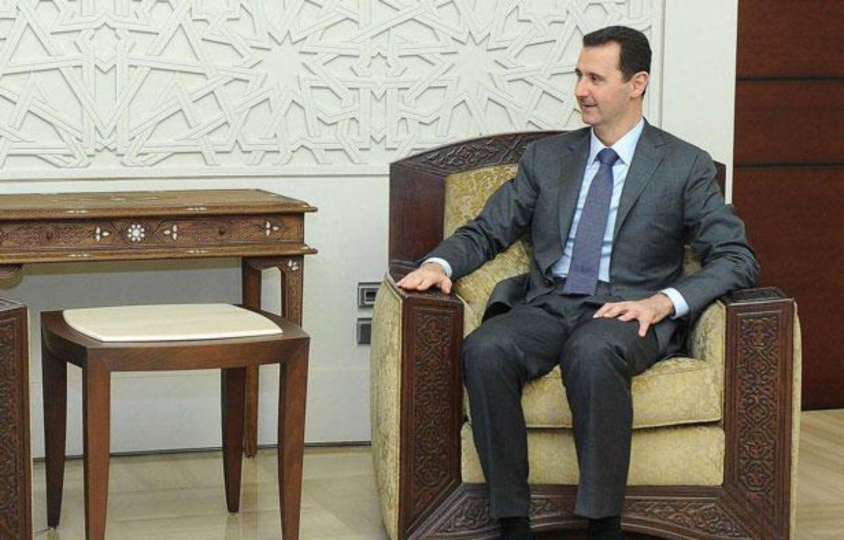 Bachar al-Assad à Damas, Syrie, le 7 août 2012. – AY-COLLECTION/SIPA