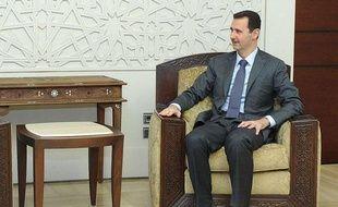 Bachar al-Assad à Damas, Syrie, le 7 août 2012.