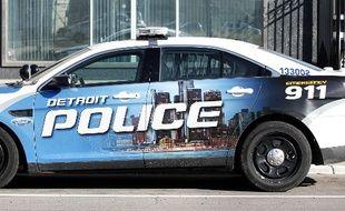 Un véhicule de la police de Détroit