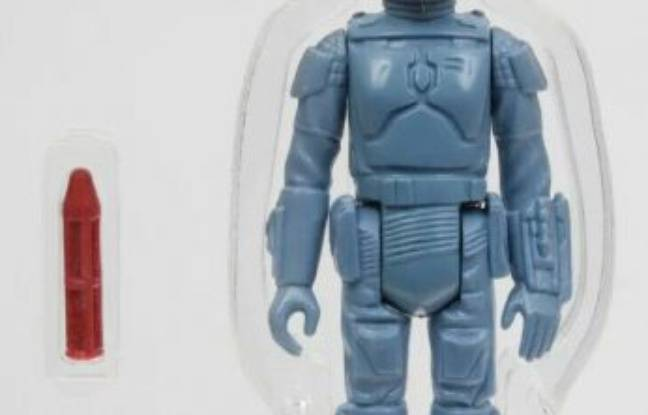 Un jouet «Star Wars» très rare en vente à un tarif record de 225.000 dollars
