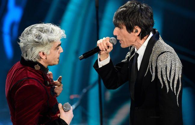 Drame au festival de Sanremo en Italie : Un chanteur quitte la scène au beau milieu d'un duo