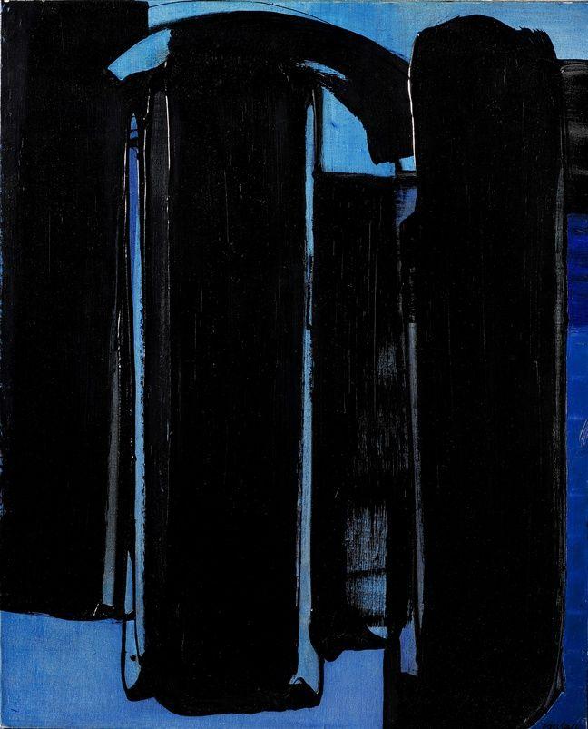 Pierre SOULAGES (1919)Peinture 16 avril 1975Huile sur toile 100x 81 cmSignature en bas à droite. Date et signature au dos.Estimation : 500 000 / 800 000 euros