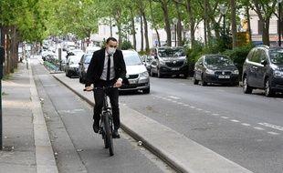 A Paris, boulevard de Belleville, le 4 mai 2020.