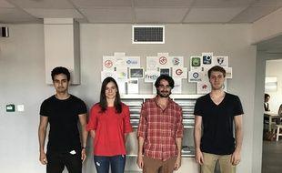 L'équipe d'IndiTicket est incubée chez 1Kubator (Lyon 3e)