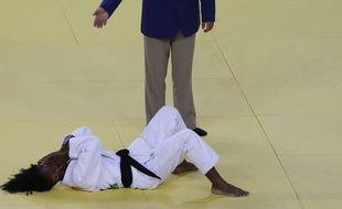 Priscilla Gneto après sa défaite à Rio, le 7 août 2016