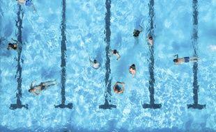 Une piscine (illustration)