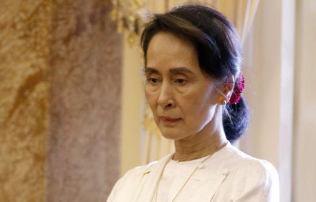 648x415 aung san suu kyi longtemps emprisonnee regime birman pris tete gouvernement sous ferule junte militaire